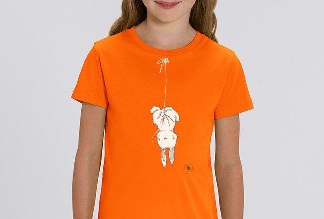 Mädchen T-Shirt - Lièvre