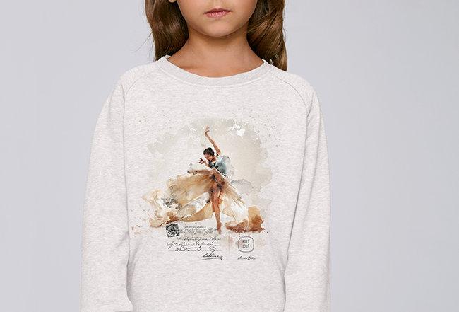 Mädchen Sweatshirt - Dancing