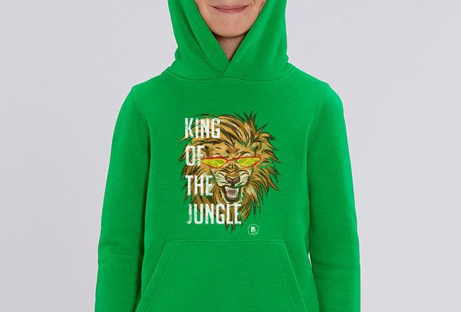 Jungen Hoodie - King of the Jungle