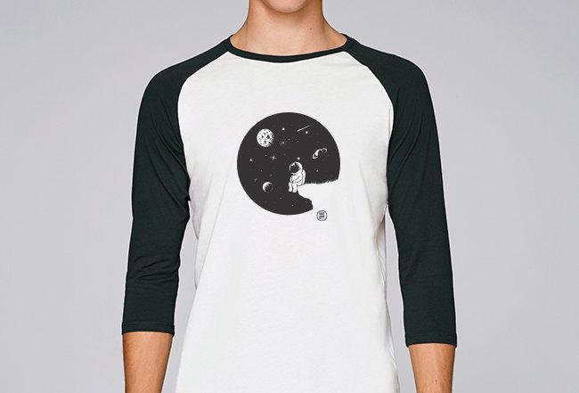Baseball Shirt- Moon