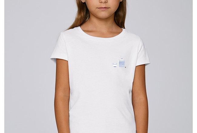 Mädchen T-Shirt - Teegedeck