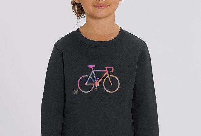 Mädchen Sweatshirt - COLORFUL BIKE