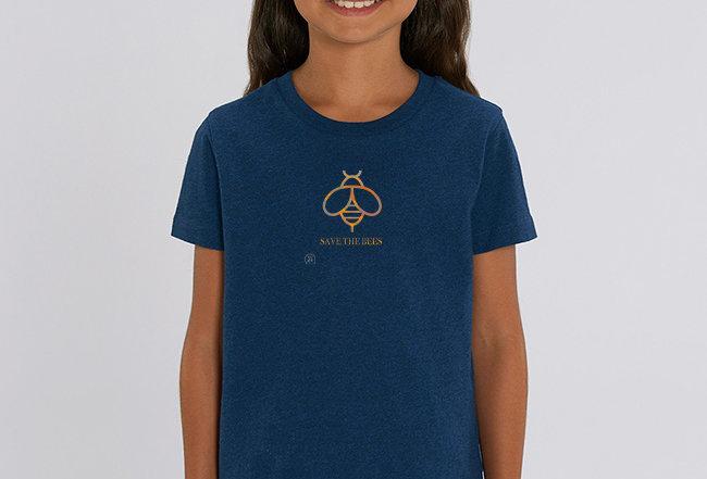 Mädchen T-Shirt- Save the Bees