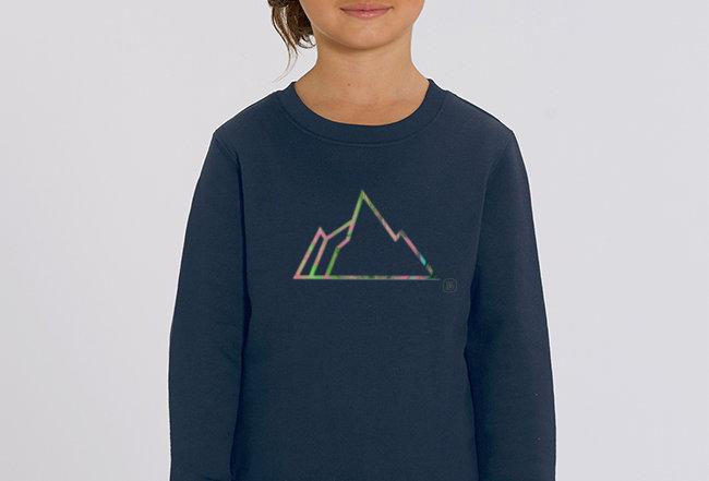 Mädchen Sweatshirt - NEON MOUNTAIN