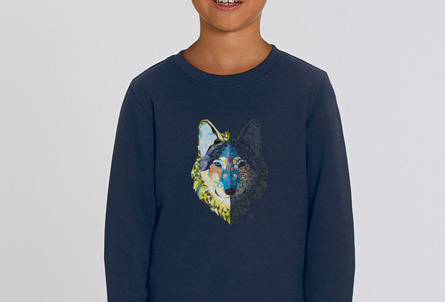 Jungs Sweatshirt - Wolf