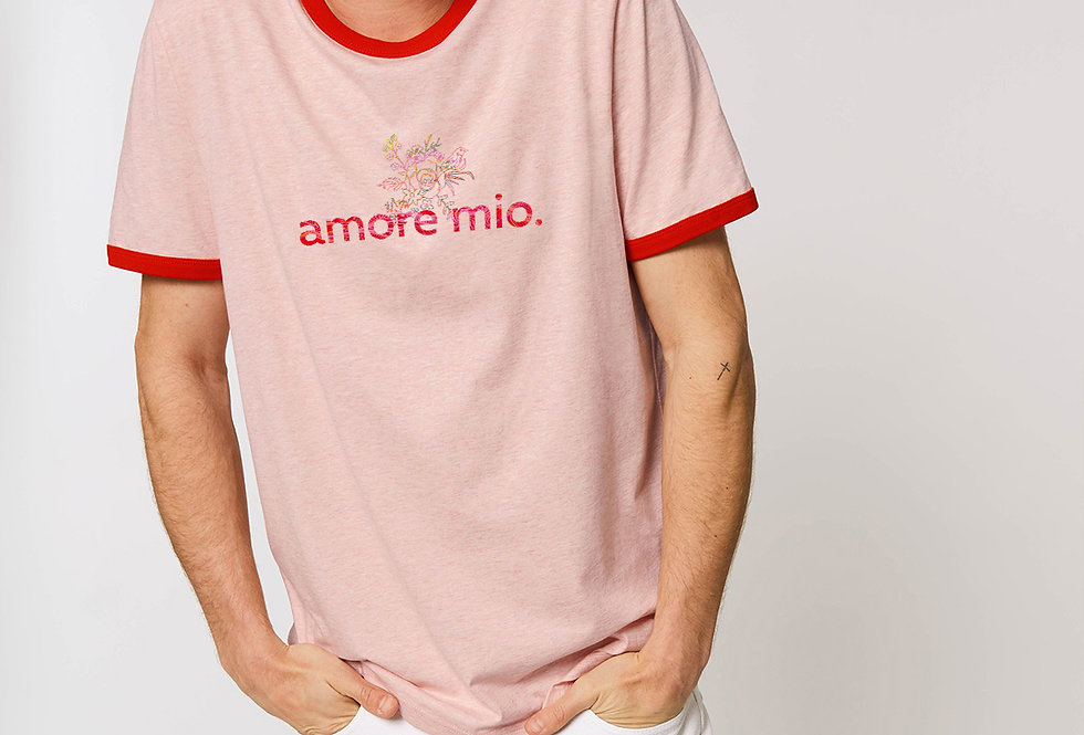 Bio Baumwolle BiColor Shirt-amore mio