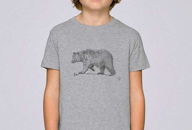 Jungen T-Shirt - Bär