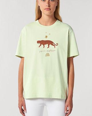 Save Nature_TigerRainbow_Shirt_kultgut-W