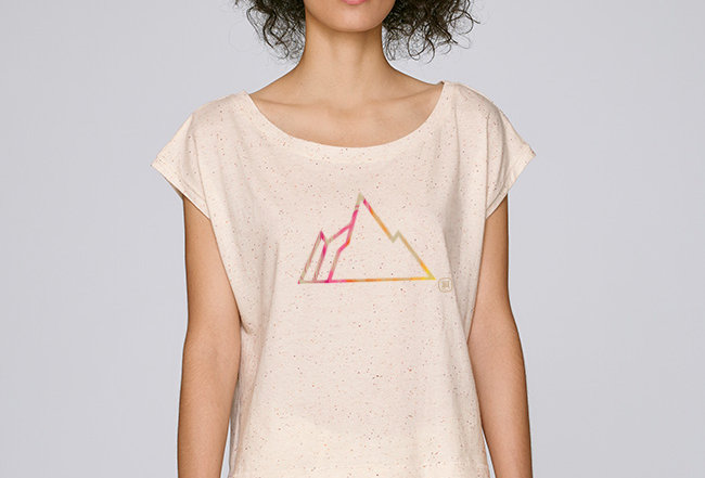 Oversize T-Shirt  - COLORFUL MOUNTAIN