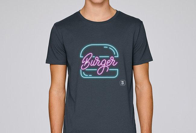 Basic T-Shirt - Burger
