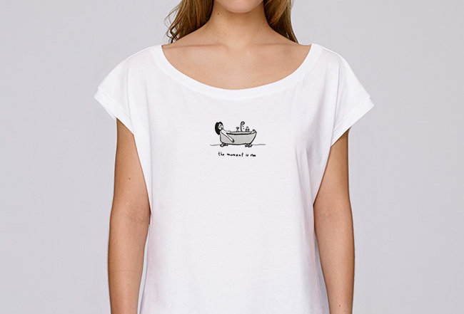 Boho T-Shirt  - the moment is me