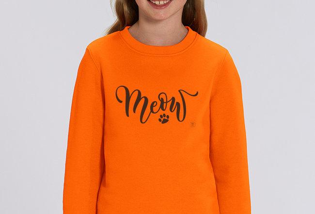 Mädchen Sweatshirt - Tatze