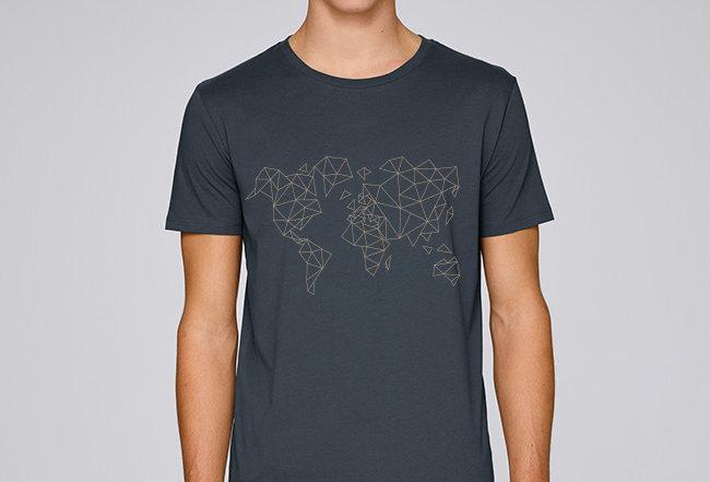 Basic T-Shirt - Worldmap