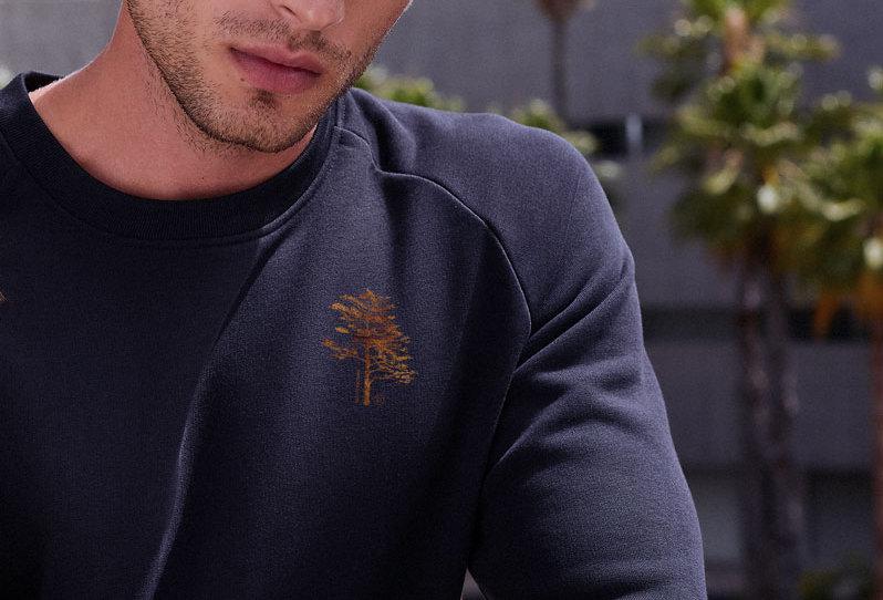 Basic Sweatshirt -Tree