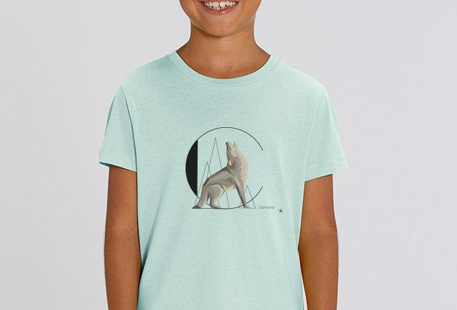 Jungen T-Shirt - Coyote