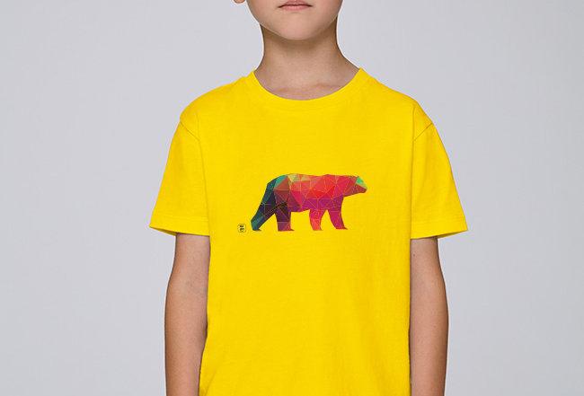 Jungen T-Shirt - Polarbär