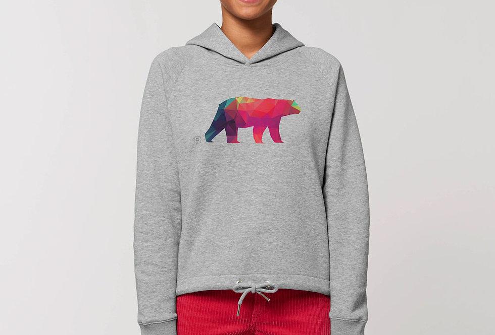 Modernstyle Hoodie- Polarbär