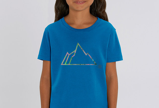 Mädchen T-Shirt- NEON MOUNTAIN