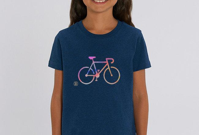 Mädchen T-Shirt- COLORFUL BIKE