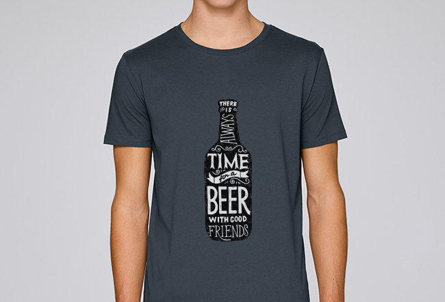 Basic T-Shirt - Time for a Beer