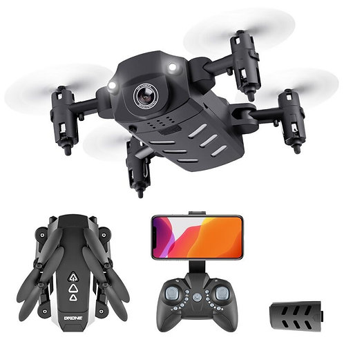Drone Dron With 4K Camera 1080P Live Video Drone RC Helicopter Aircraft