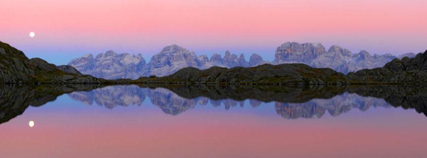 Dolomites and lake