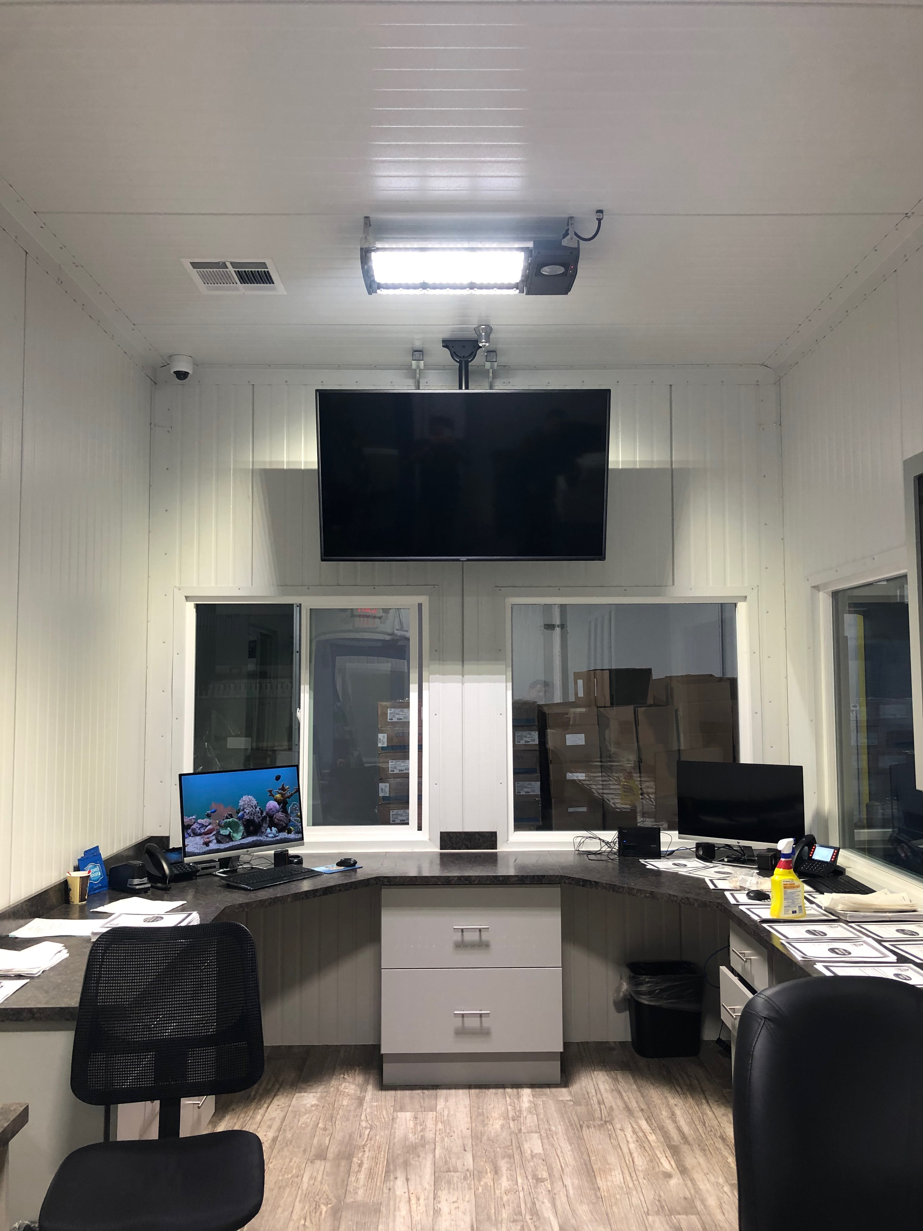 Control Room Install