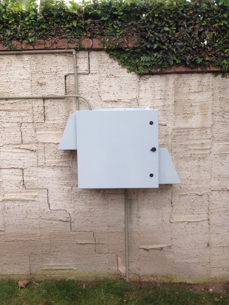 Weather Proof Exterior Box