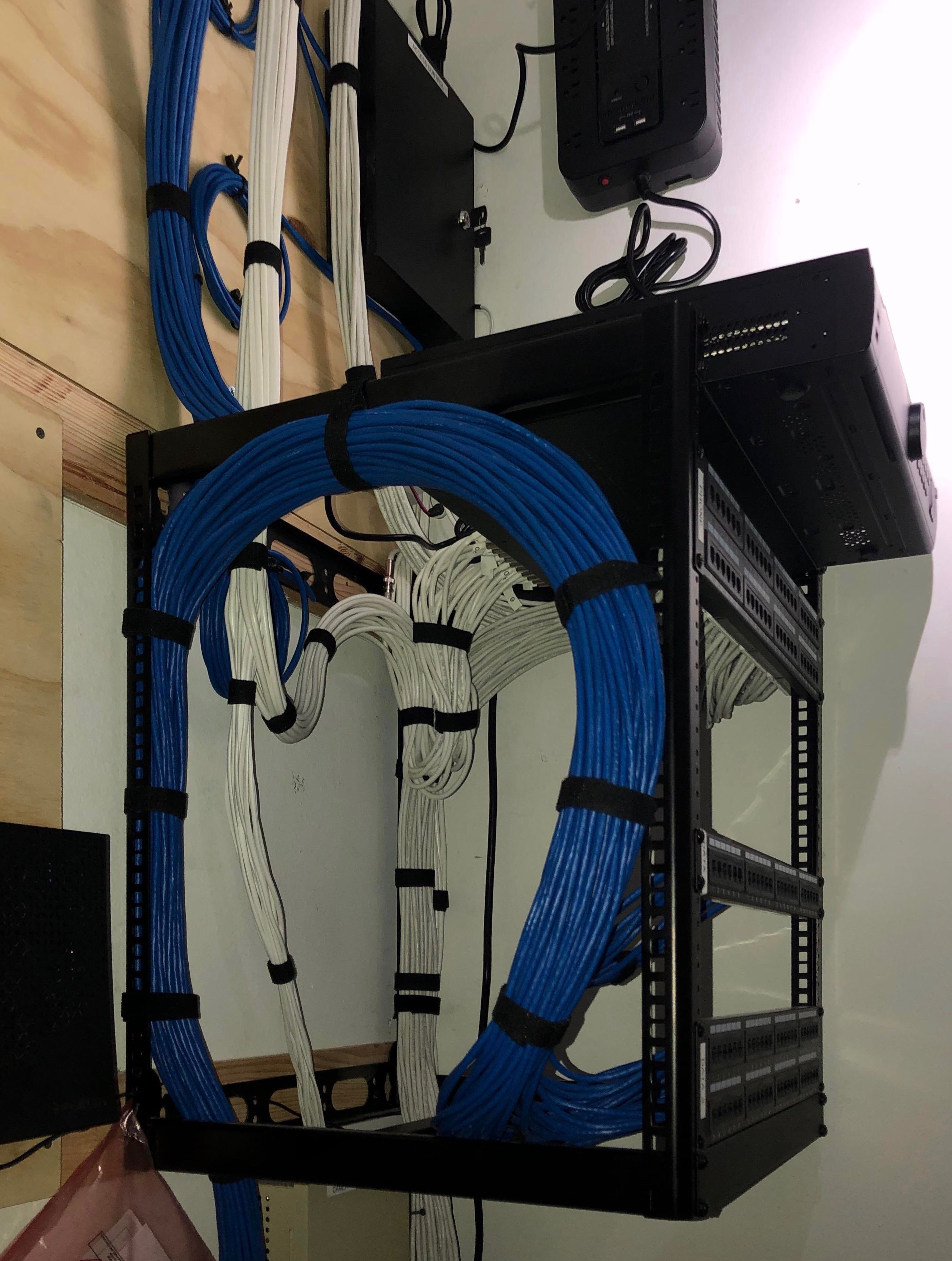Network Room Install