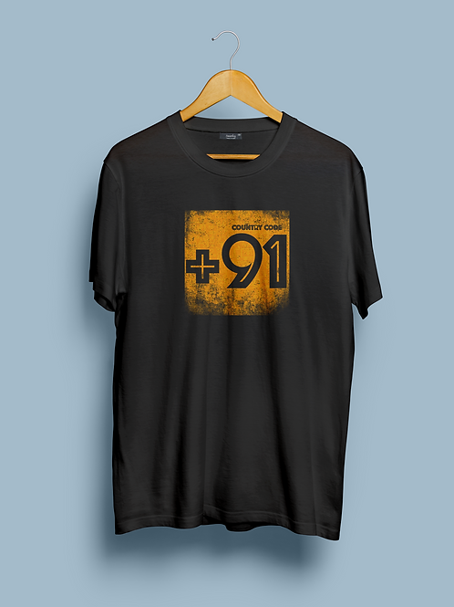 Country Code T-shirt