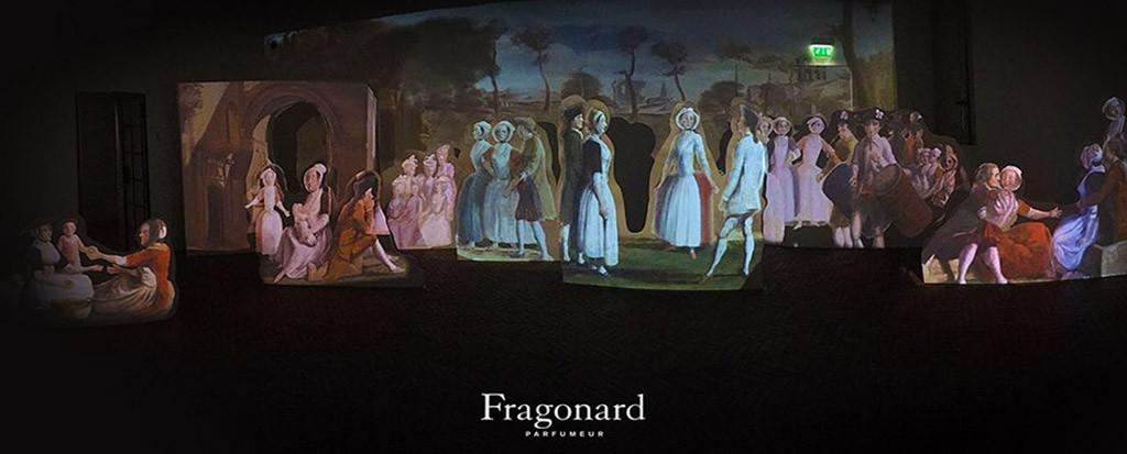 Fragonard - immersive painting