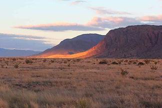 Sunset on east mountains el defensor chi