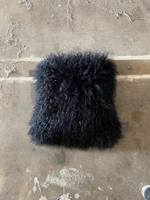Deko Lam - Sier Kussen 04 - Zwart