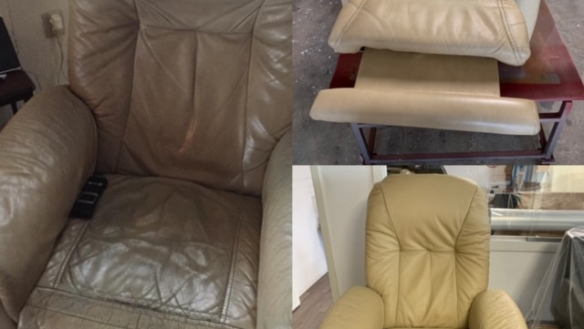 fauteuil hersteld