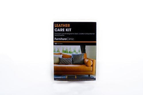 Leren Onderhoud Set – Reiniger en Protectie Crème – Herstellen van Leder