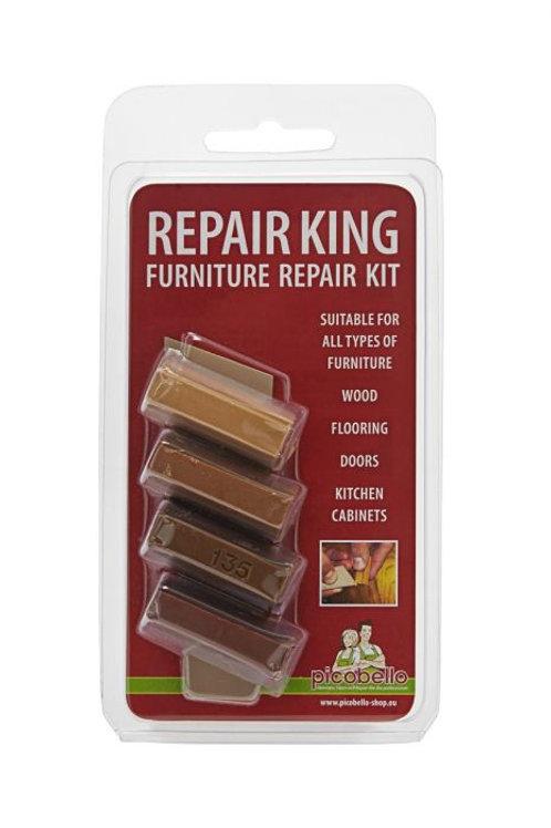 Soft Wax Hout Vuller Reparatie Kit - Diverse Kleuren