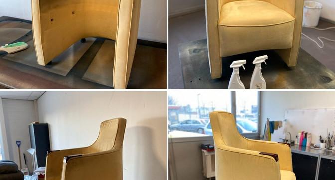 reiniging fauteuil