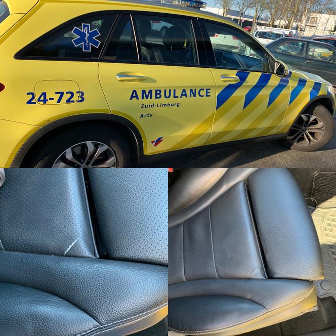 reparatie autostoel