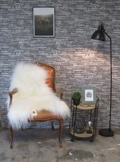 Schapenvacht - IJslands  - Medium - Lang haar - Naturel - Kleur: Wit