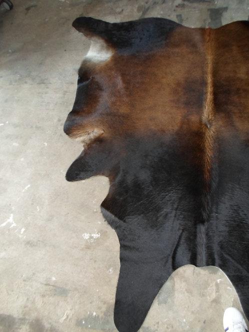 Koeienhuid - Naturel - Donker Bruin
