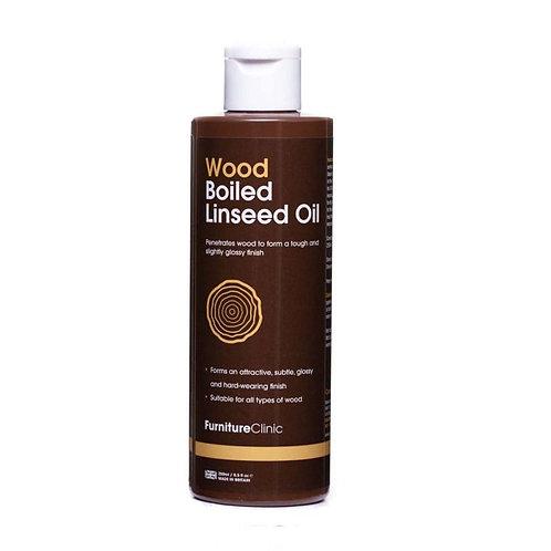 Gekookte Lijnzaad Olie 250 ml - Beschadigde Verpakking - B Keuze