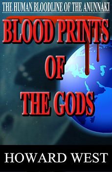 Blood Prints of the Gods Howard West Boo