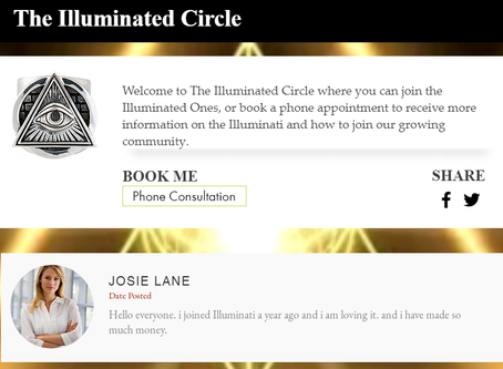 BLOG - Create your own Illuminated Website