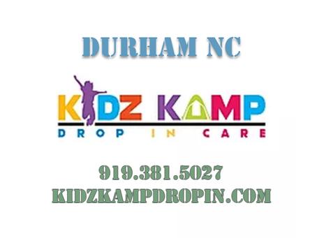 BLOG - Kidz Kamp Drop In Care Website and App