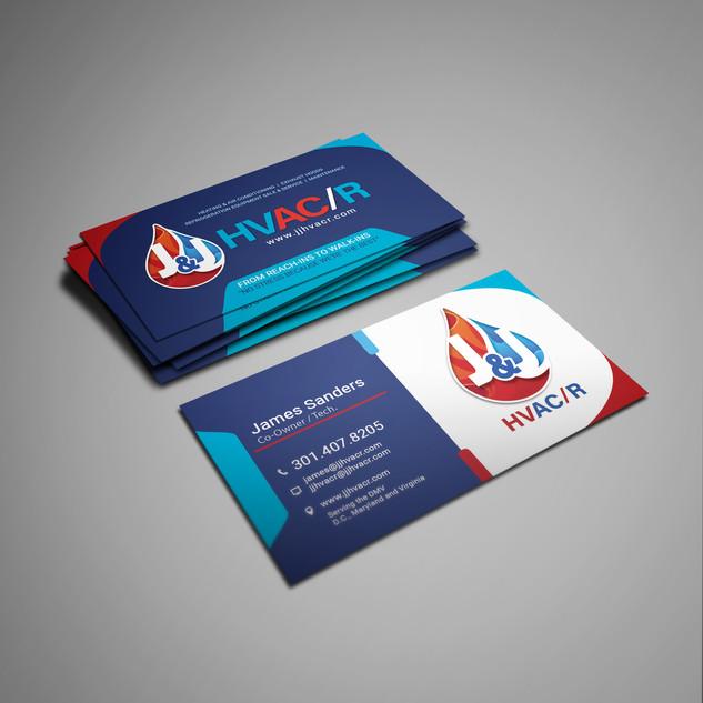 JJ HVac Business Card front mockup copy.