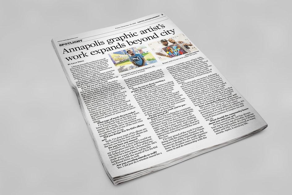 cell capital newspaper mokcup.jpg