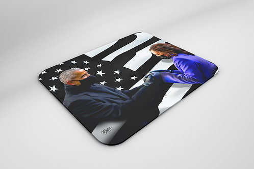 Fist Bump - Mousepad