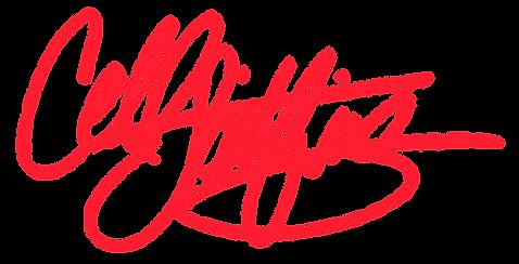 Cell Spitfire Logo, Cell Spitfire signature, Comacell Brown Logo, Cell Spitfire cursive, signature