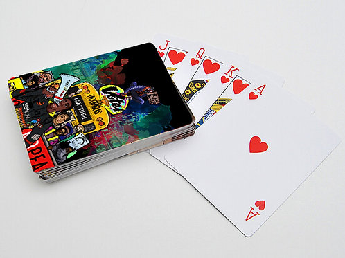 Hoop Bus Playing Cards