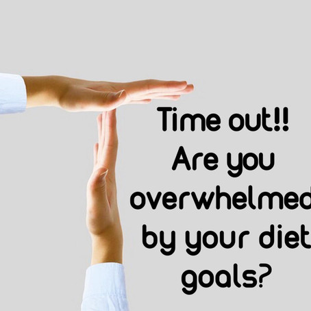 Are You Feeling Overwhelmed with Diet Changes?